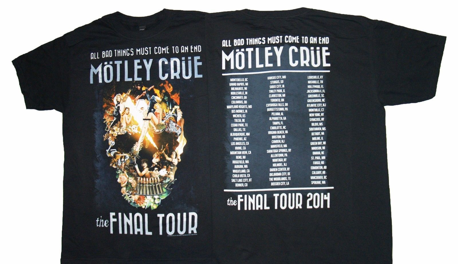 Click To Buy Gildan Motley Crue Final Tour Collage Men T Shirt Affiliate Mens Tshirts Motley Crue T Shirts S
