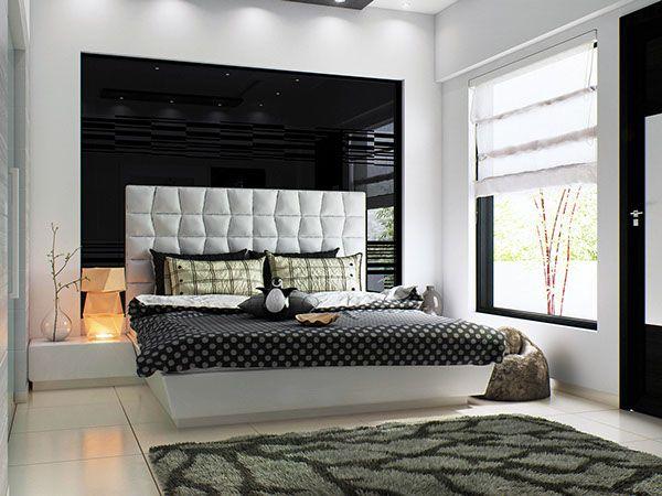 Black/White Modern Bedroom on Behance