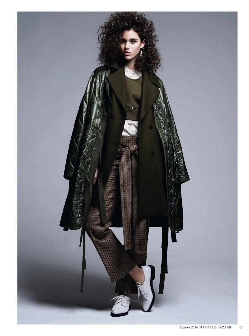 Tweed & Co. In Town (Harper's Bazaar Germany)