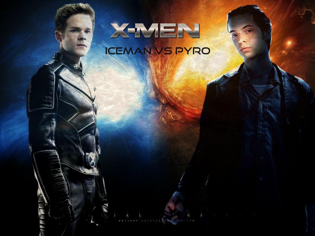 X-MEN Fan Art - PYRO VS ICEMAN 03 #bobbydrake #comics # ...