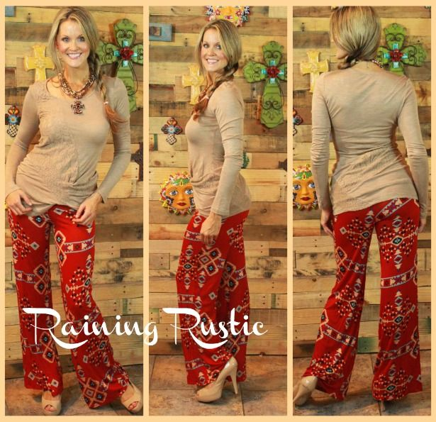 Tribal Fall Pants