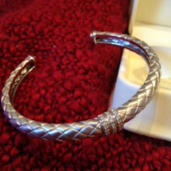 925 fine Sterling Silver Diamond Bracelet Jared Lowered Jared