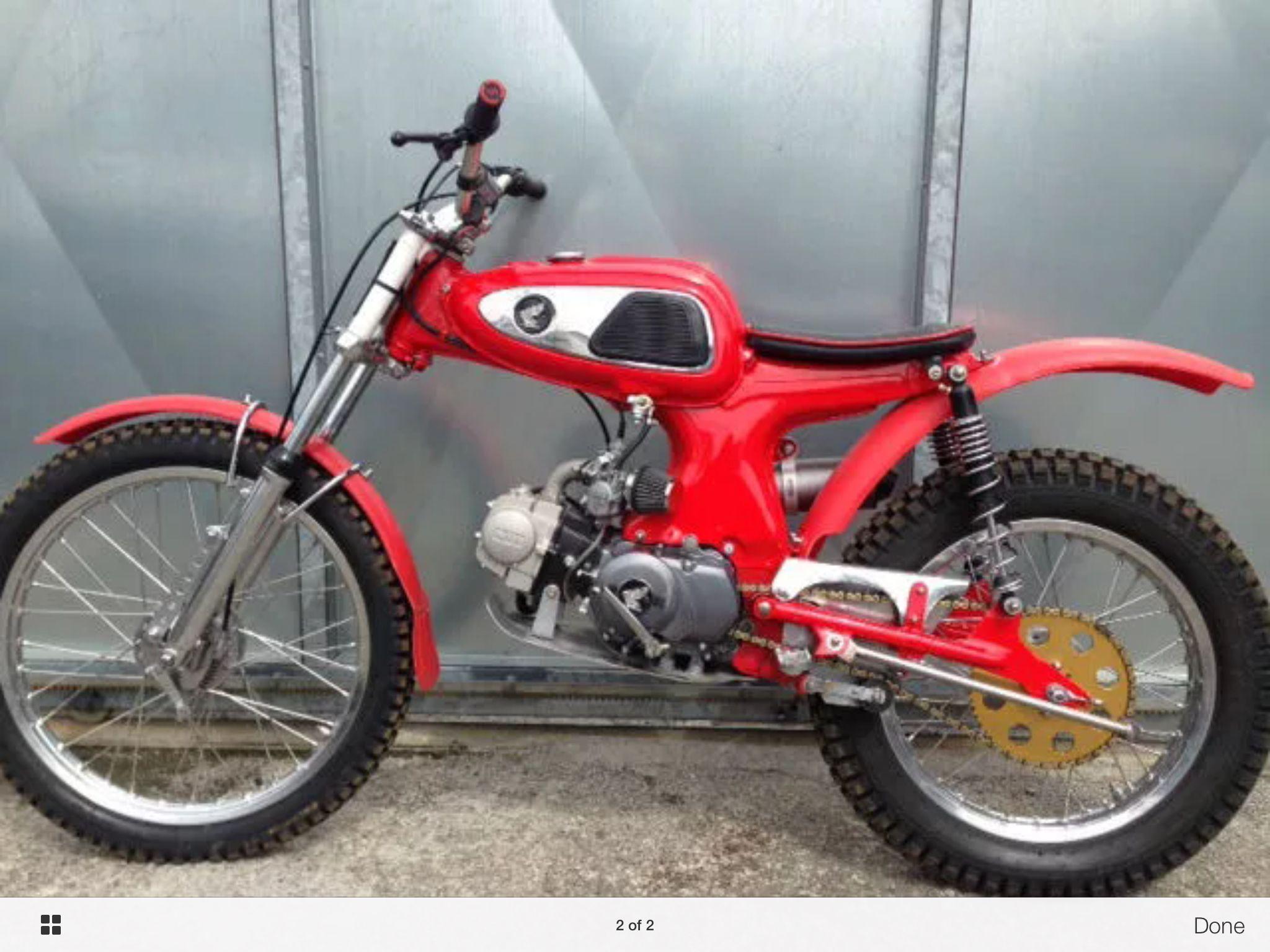 Honda C110 125cc Trials Sepeda Gambar