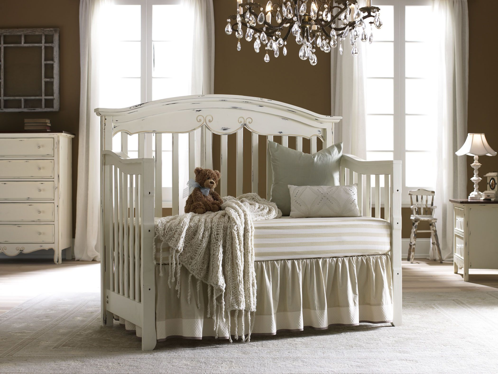 Bonavita crib for sale used - Bonavita Francais Collection Lifestyle Crib 699 99 Reminiscent Of Treasures Found In The French Countryside