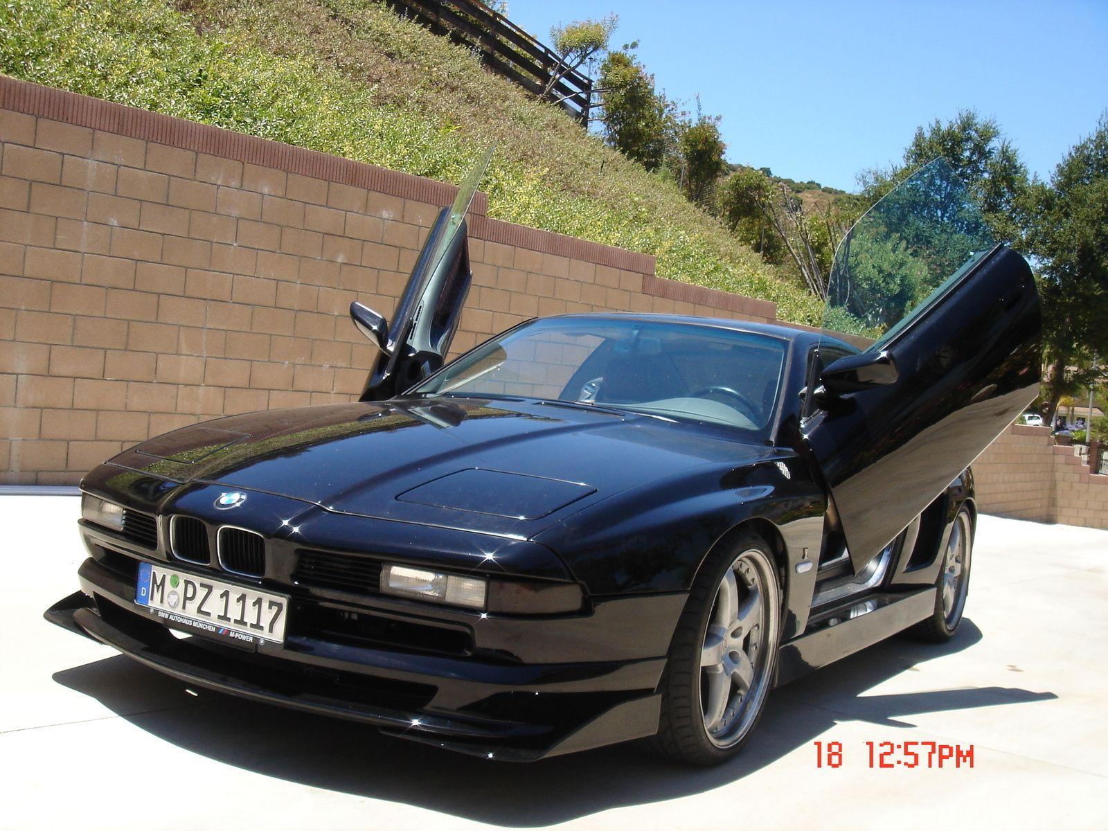BMW 850 Black With Lambo Doors