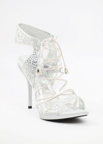 Rhinestone shoes http://www.shopzoey.com/Wedding-Shoes-Silver-with ...