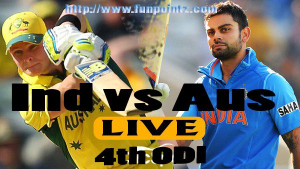 Live Streaming Of All Matches Of The India Vs Australia Series Will Be Available Online Ind Vs Aus 4th Odi Watch L Live Matches Live Match Streaming Streaming