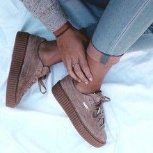 4933188eff3 puma+schoenen+bruin+met+dikke+zool   shoes - Shoes, Trainers en ...