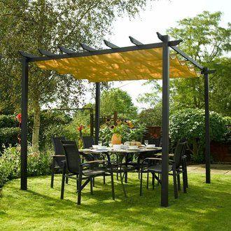 tonnelle alu 3x3 tonnelle pro alu x m neuve with tonnelle. Black Bedroom Furniture Sets. Home Design Ideas