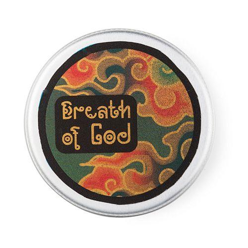 Breath Of God ist auch als festes Parfüm in einer kleinen Metalldose erhältlich. Grenzenlos himmlischer Duft für unterwegs.