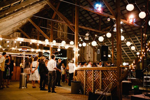 I Want A Barn Wedding... With Lights And Lanterns And Cowboy Boots And