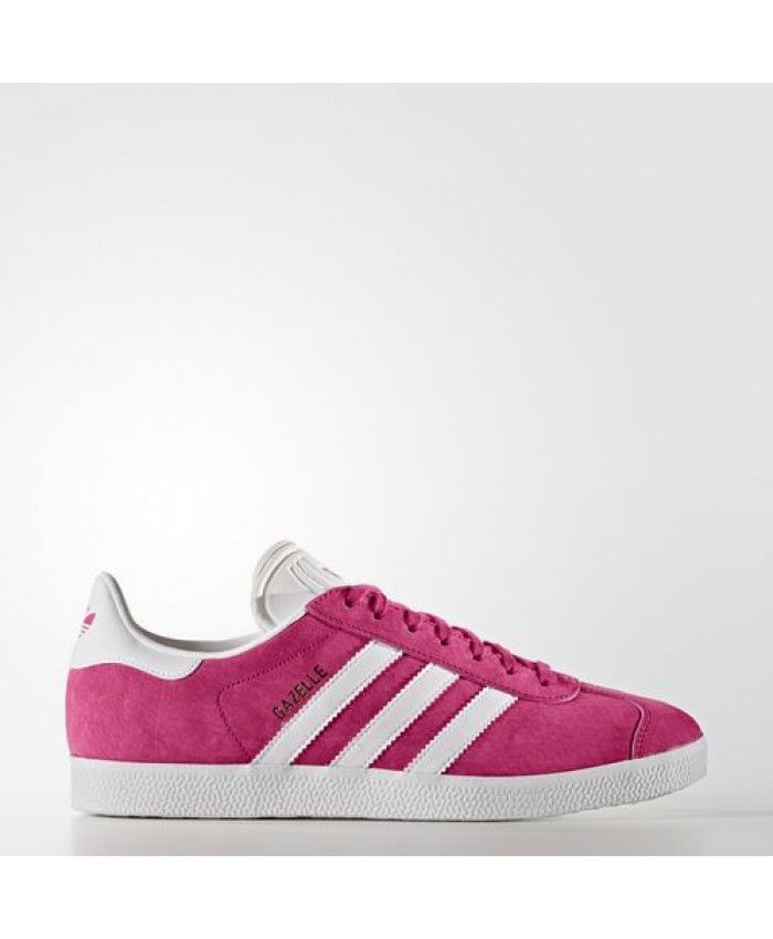 Womens Adidas Gazelle Bold Pink White Gold Met. Bb5483