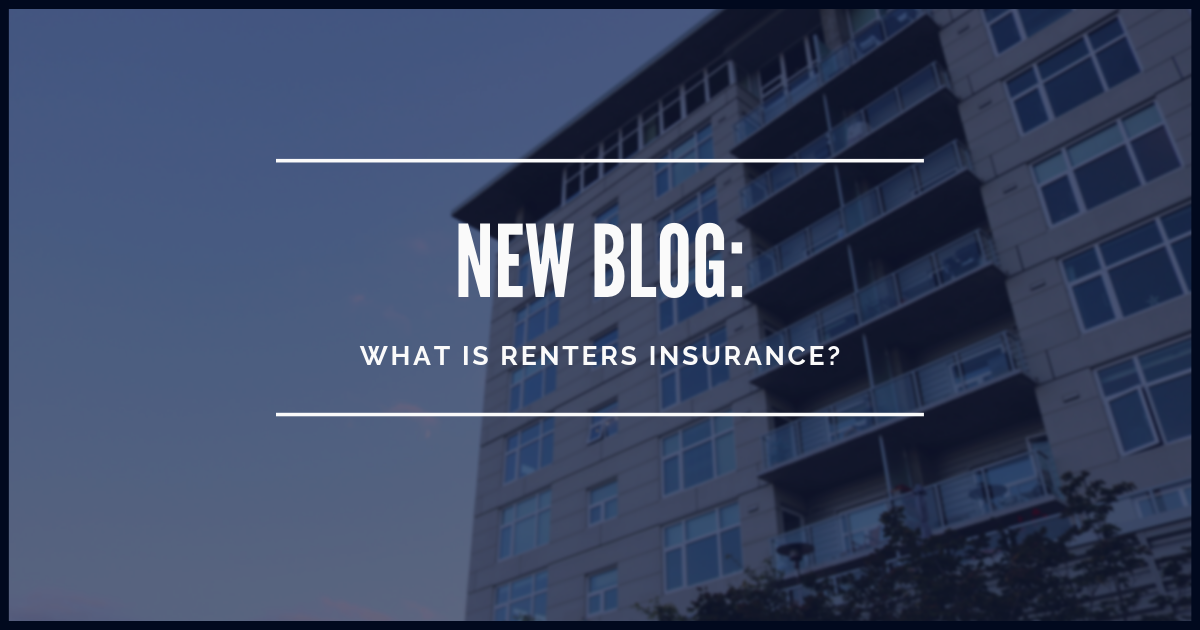 Renters insurance is a policy for people who don't own the