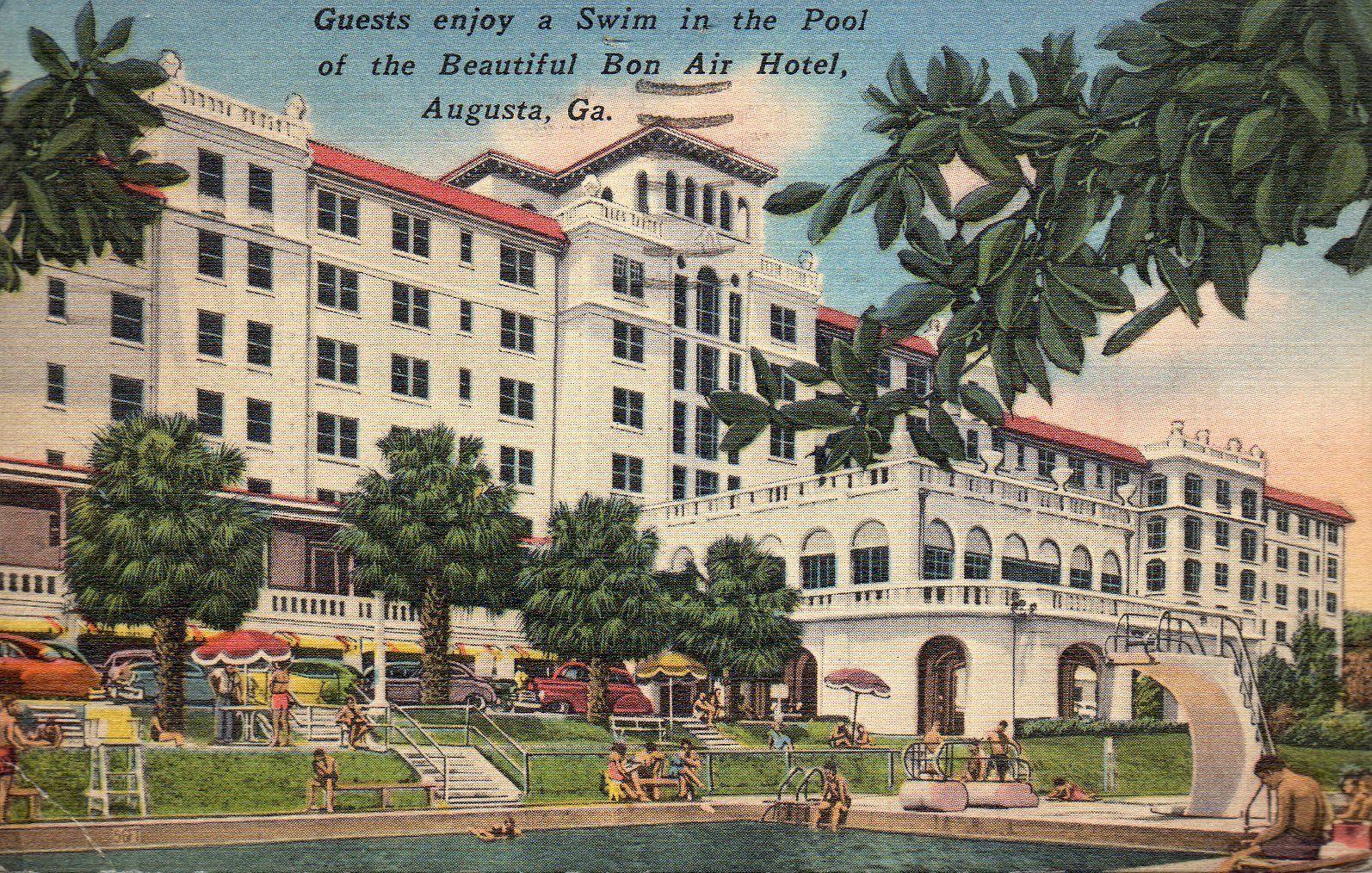 Bon Air Hotel Augusta Georgia