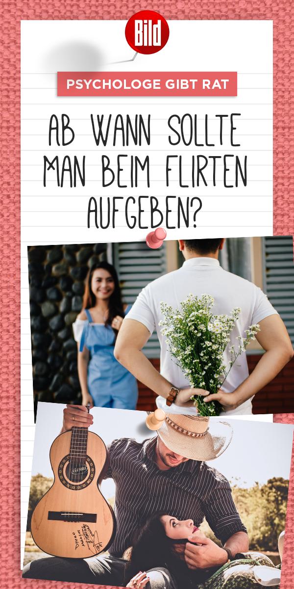 Männer flirten verstehen