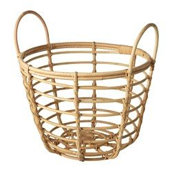 IKEA   JASSA, Basket With Handles, Handmade By Skilled Craftspeople, Which  Makes Every