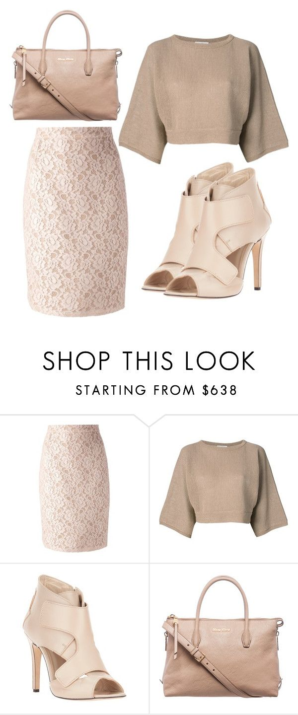 """Untitled #680"" by evalentina92 ❤ liked on Polyvore featuring Lanvin, Brunello Cucinelli, Neil Barrett and Miu Miu"