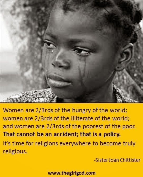 females are always treated badly by religions feminist females are always treated badly by religions
