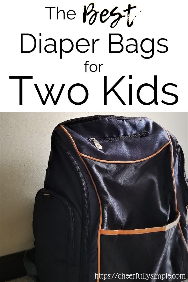 The Best Diaper Bags For Two Kids Baby Essentials