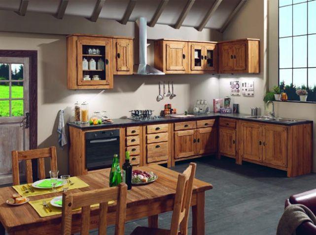 Cuisine bois chalet | Design Pat ! | Pinterest | Kitchens