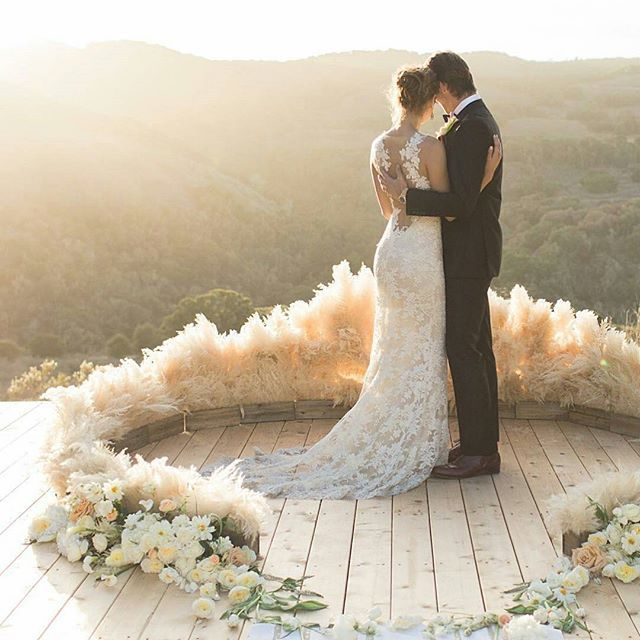 Breathtaking Bohemian Outdoor Wedding Altar: Pin By Ever Something On Arches + Installations