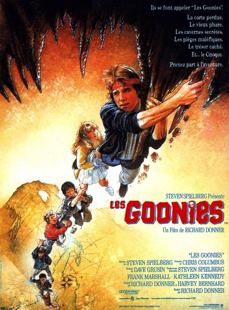Les Goonies Richard Donner 1985 Goonies, Les goonies