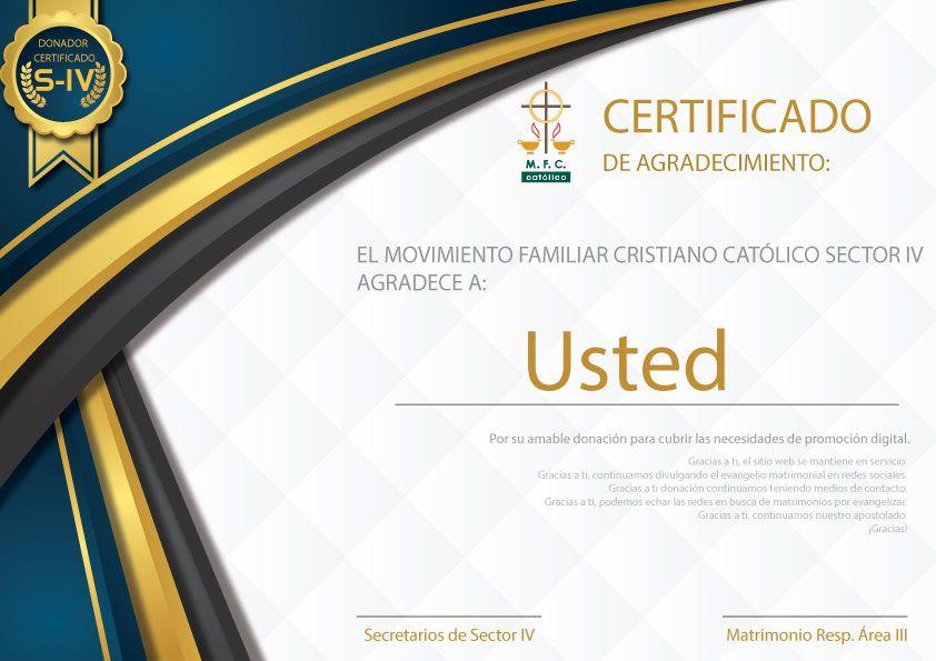 Resultado de imagen para certificado de agradecimiento por servicio
