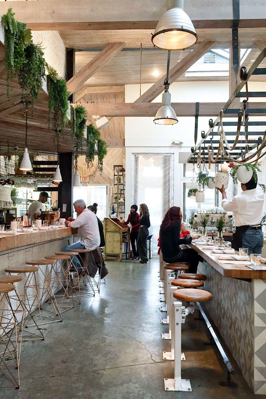 9 Amazing Yummy Places To Eat Healthy In La Restoran Ev Dekorasyonu Evler