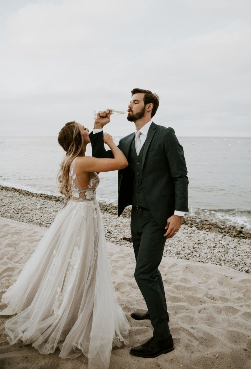 Inspired By This Catalina Island Engagement |Catalina Island Dress