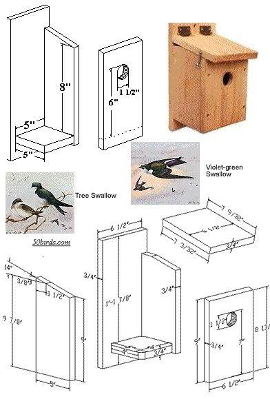 Swallow Bird House Bird House Kits Bird Houses Bird Houses Diy