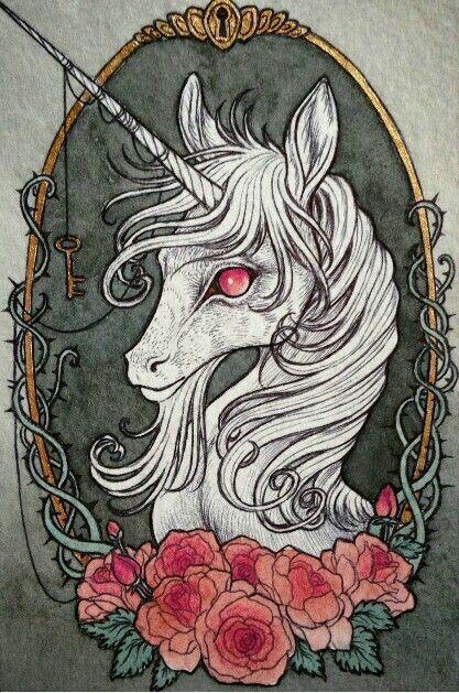 Fey Unicorn with key