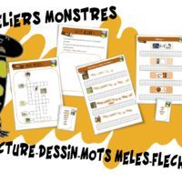 Ateliers lecture Monstres