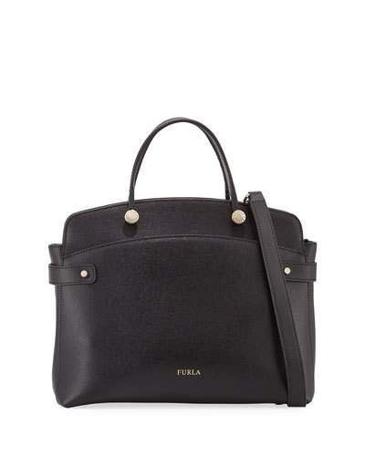 3798a5dfa282 Agata Medium Leather Tote Bag