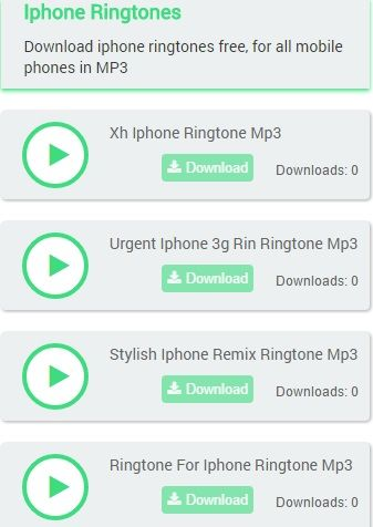 Download Iphone Ringtones Free For All Mobile Phones In Mp3
