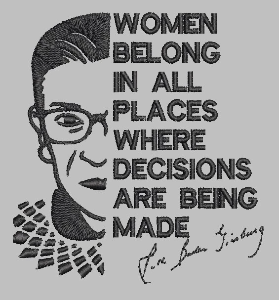 RBG quote The3BlackCats in 2020 Rbg, Quotes, Woman quotes