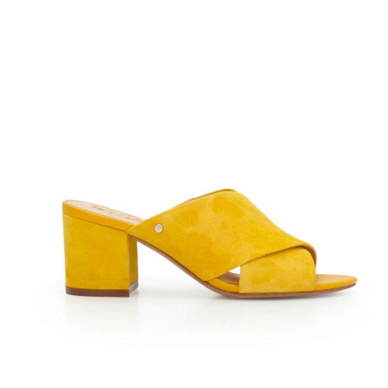 5d501cf3ae05 Sam Edelman Stanley Yellow Mules