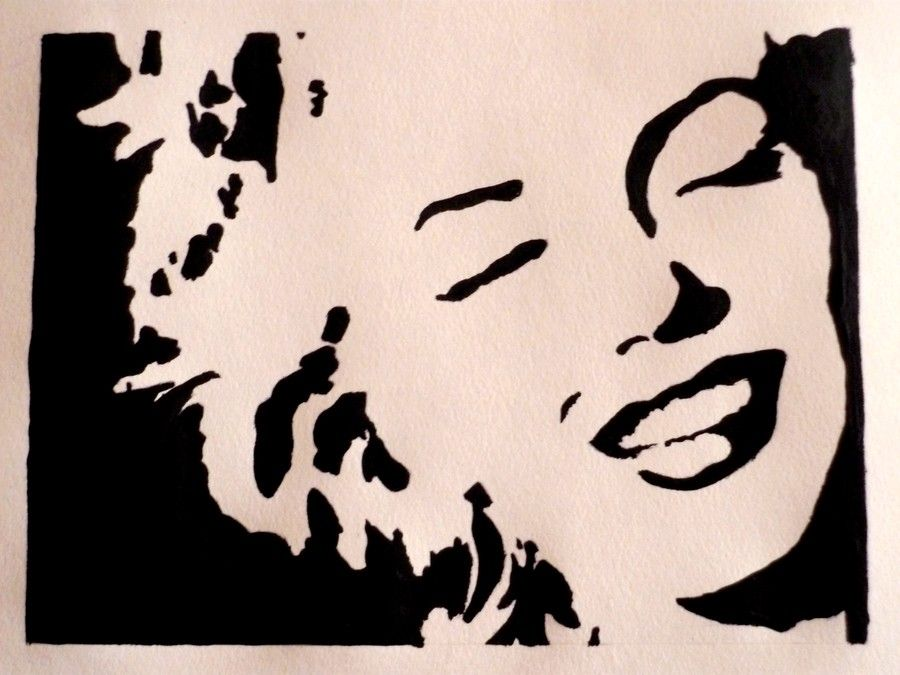 Marilyn Monroe Art Marilyn Monroe Artwork Marilyn Monroe Art Marilyn Monroe Stencil
