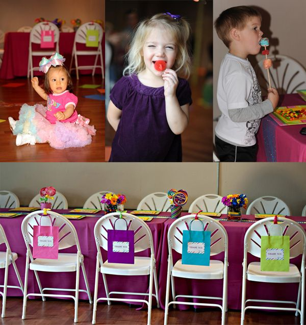 Candy Land Birthday Candyland Party Favor Bags