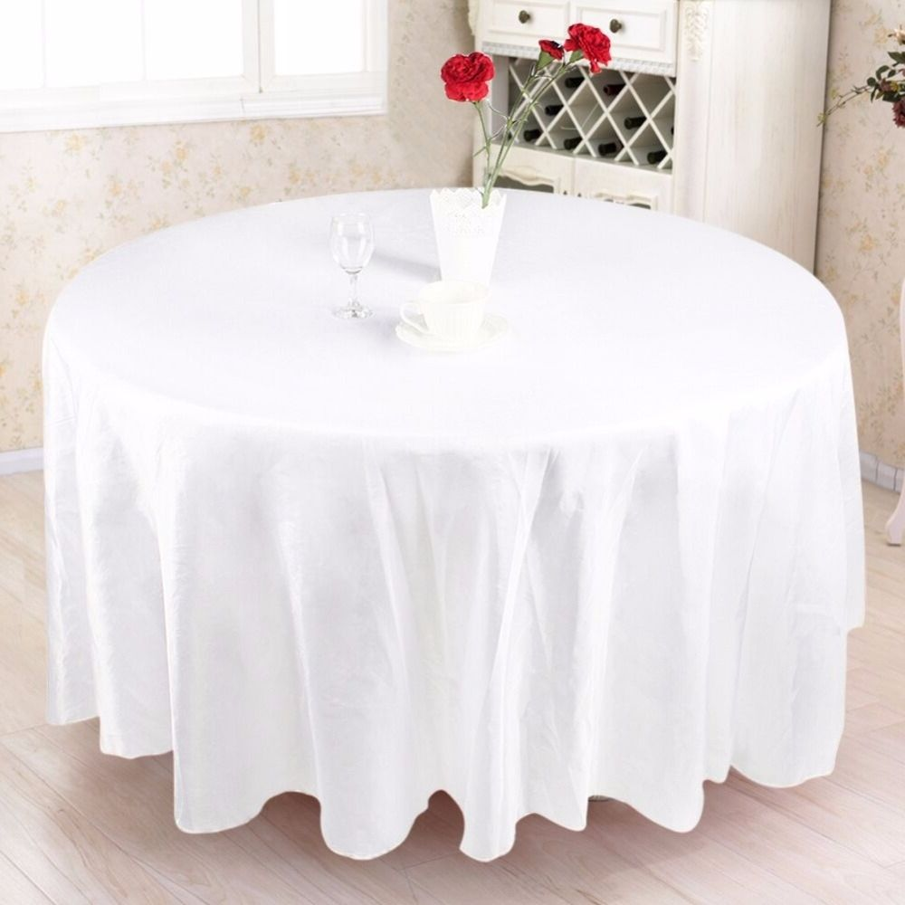 Beautiful Modern Round Tablecloth