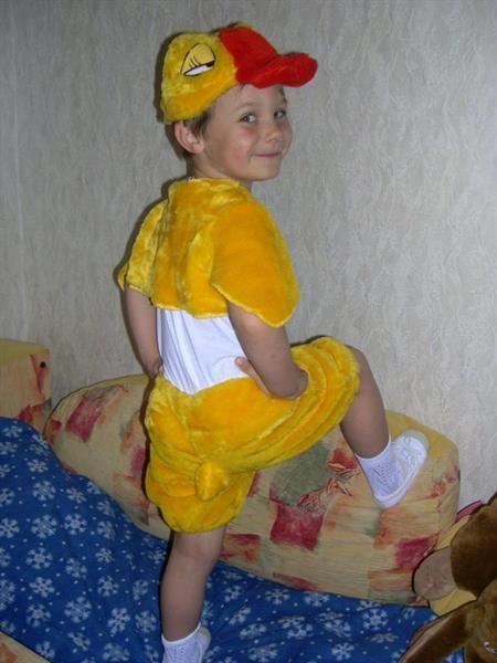 48482555ed24 Пошить костюм утенка для ребенка   Одеваемся со вкусом   Pinterest