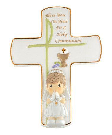 Communion Girl Cross #zulily #zulilyfinds