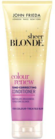 Colour Renew Tone Correcting Shampoo From The John Frieda Hair Care Experts Shampoo John Frieda Blonde Color