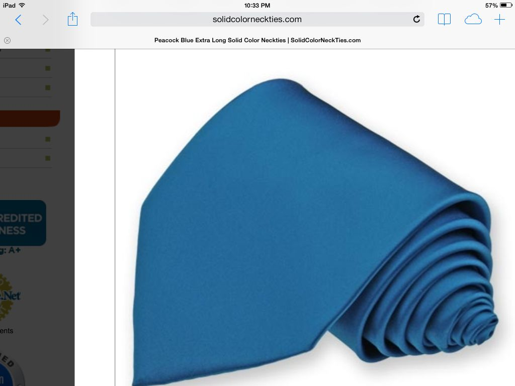 Is this the color tie...