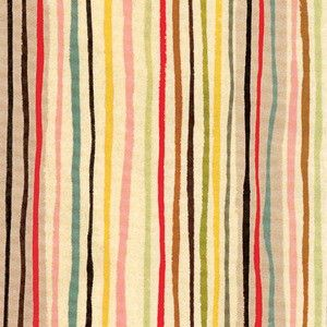 Alexander Henry hand-painted stripes for Kate Spade.