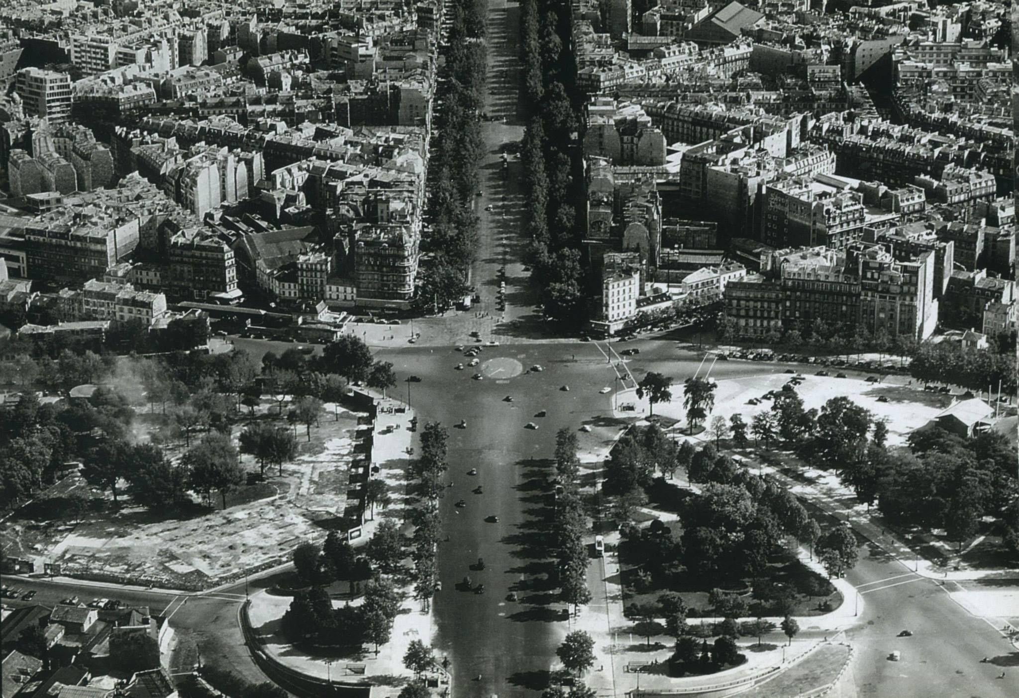 Paris 1955 la porte maillot et l 39 avenue de la grande - 10 avenue de la porte de menilmontant ...