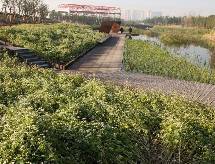 Shanghai Houtan Park By Turenscape Landscape And Urbanism Landscape Architecture Landscape