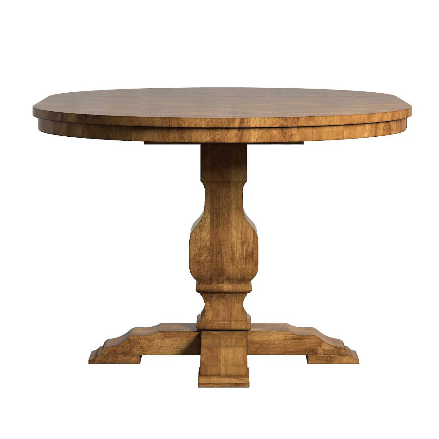 Fortville Extendable Solid Wood Dining Table Dining