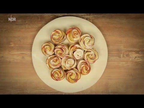 Zauberhaftes Apfelrosen Rezept