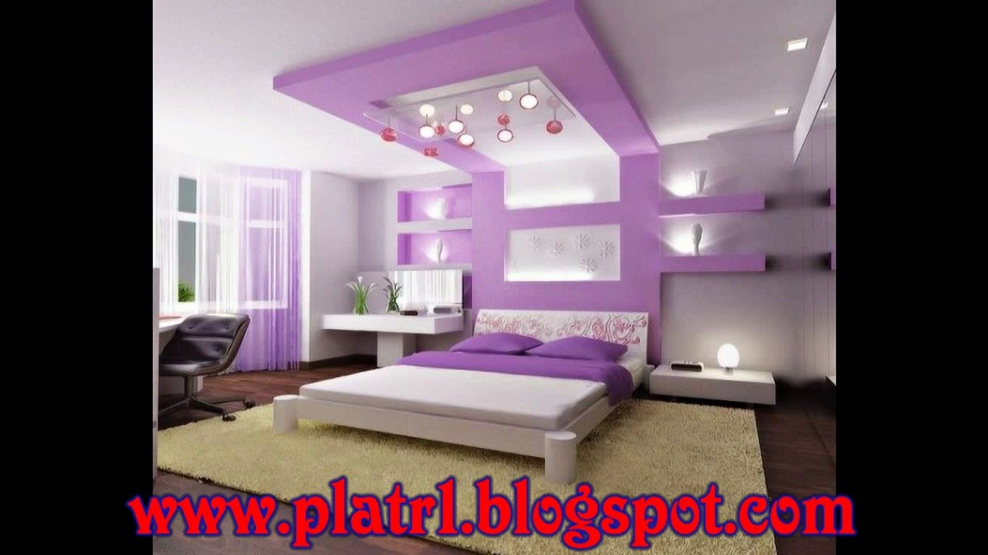 Faux Plafond Tres Moderne Pour Chambre Coucher Hd Vid O Dailymotion
