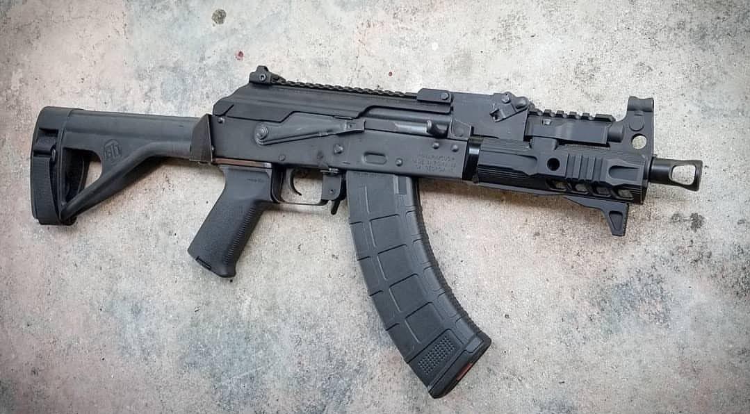 Pin by Aaron Cross on AK Vault   Guns, Ak pistol, Tactical ak